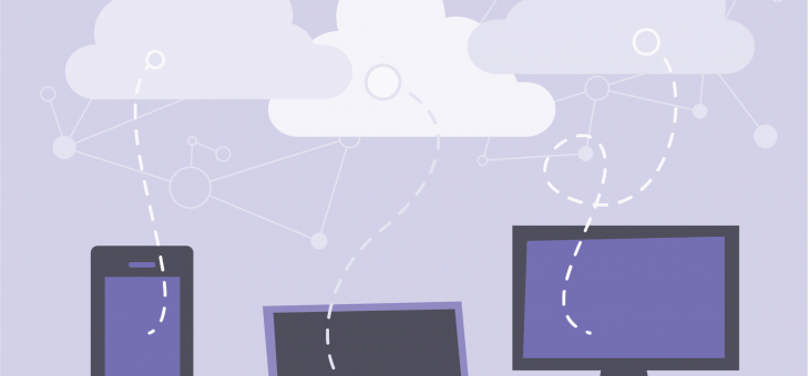 How does cloud computing save time and money?