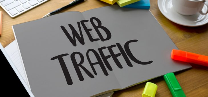 How do you get more traffic on the website?